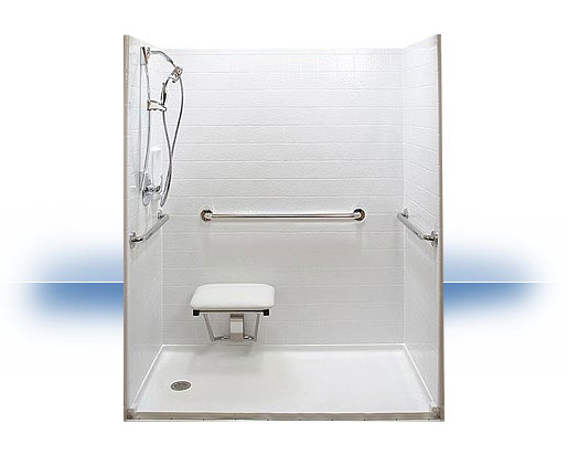 Kodak Tub to Walk in Shower Conversion by Independent Home Products, LLC