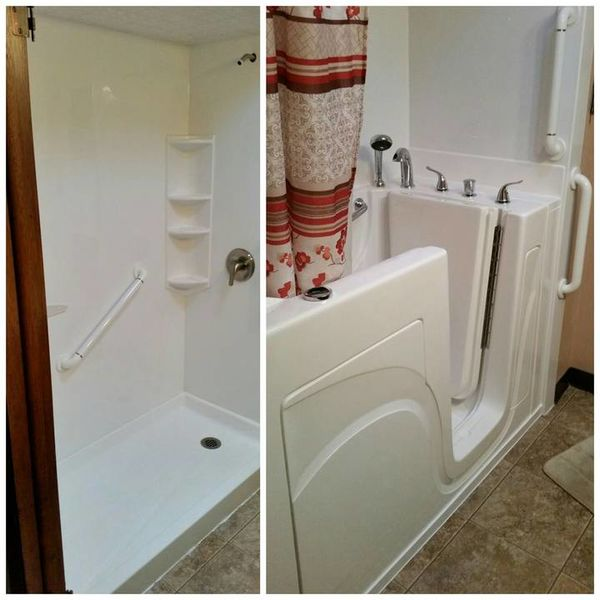 Shower / Tub Conversion in Knoxville, TN (1)